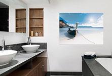 Poster-plage-salle-de-bain