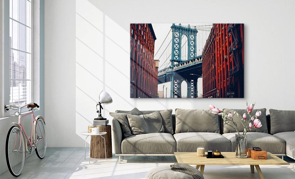 photo plexiglas grand format habitation