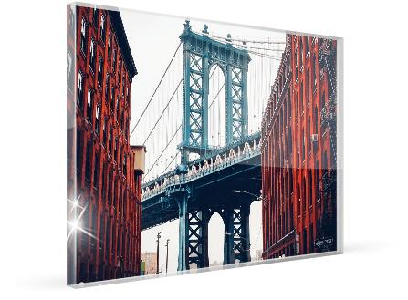 photo plexiglas grand format produit