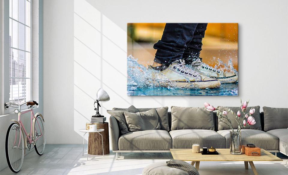 photo sur verre habitation
